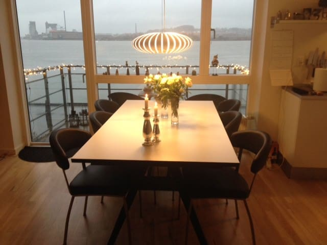 Byens bedste udsigt - Aalborg - Appartamento
