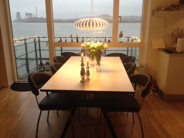 Byens bedste udsigt - Aalborg - Apartamento