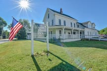 The beautiful Damm House Inn