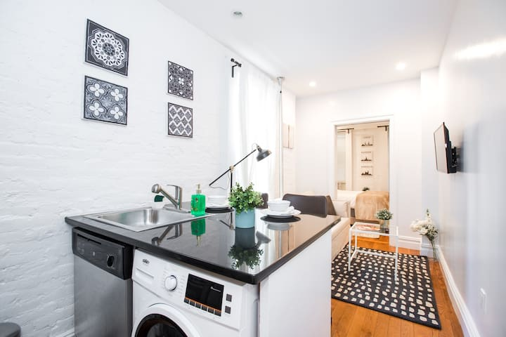 1 BR with Washer&Dryer in Midtown ♡50% Discount♡