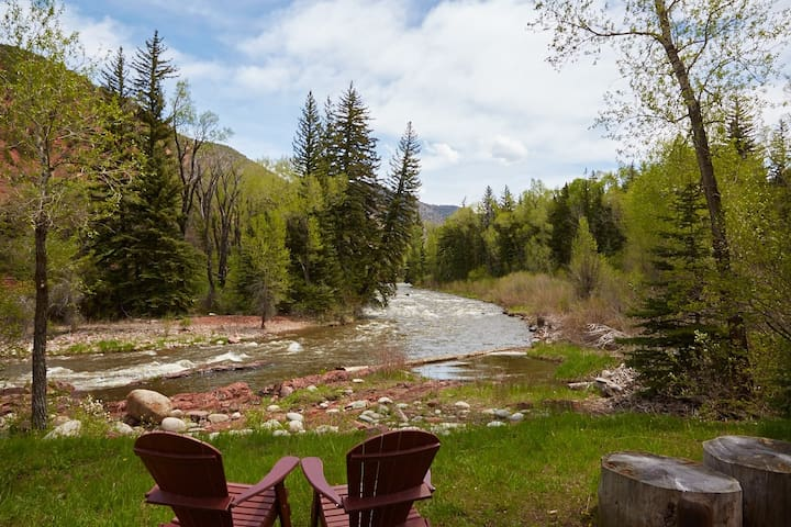Snowmass Cottage: A Fisherman's Dream - Snowmass - Cabane