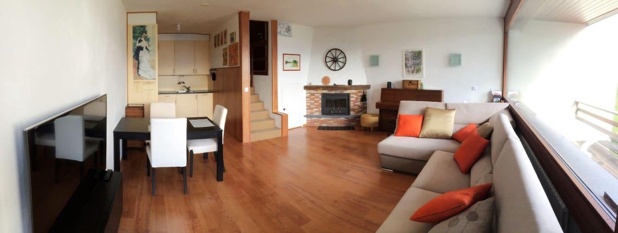 Modern Ski Home in Crans-Montana  - Crans-Montana - Apartamento