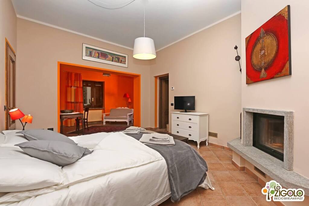 Lo zigolo bed and breakfast c1 chambres d 39 h tes for Chambre d hote italie