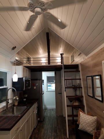 New Contemporary TINY HOUSE on Equestrian Farm