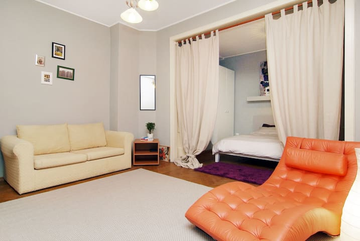 Central Studio - special long term offers - Bukareszt - Apartament