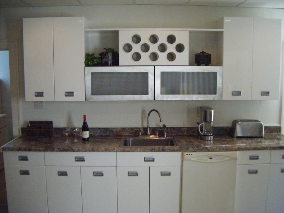 New kitchen with everything you will need.