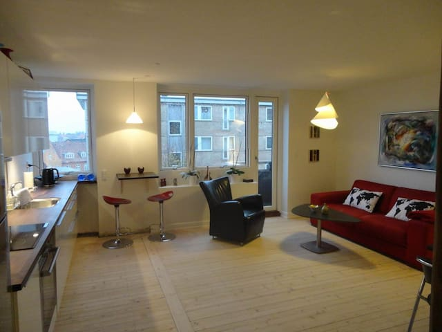 Nice flat, 20 mins from CPH centre - Dyssegård