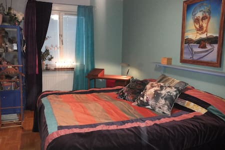Double room with private bathroom - Stockholm - Bed & Breakfast