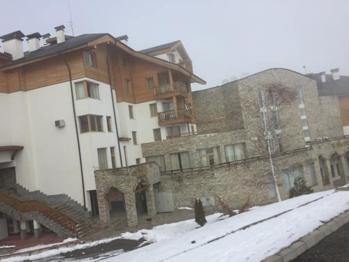 Bansko mountain view ski apartment