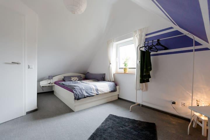Privates Zimmer in der Lüneburger Heide