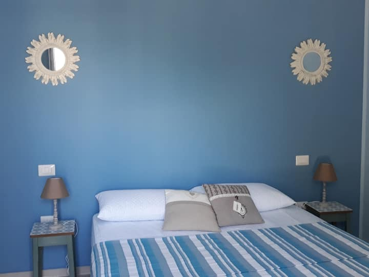 Turquoise Sea Room one step away from the sea
