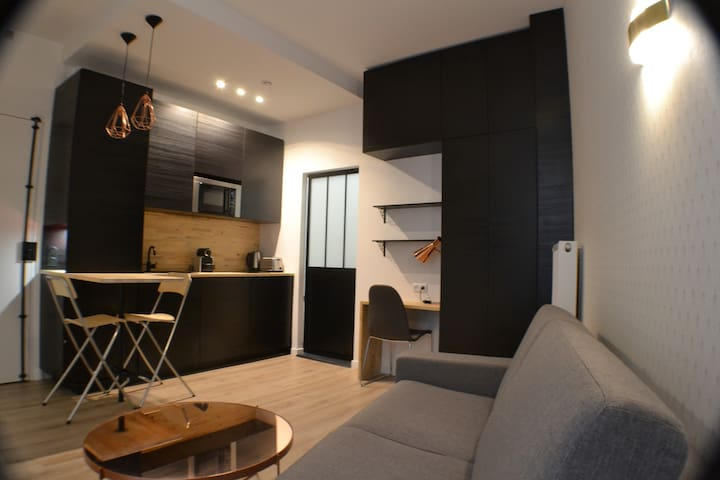 Cosy apartment in the heart of Paris 9, St Georges