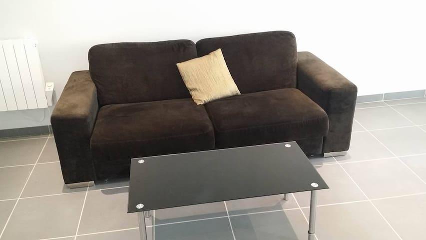 Canapé convertible avec confort d'un vrai matelas