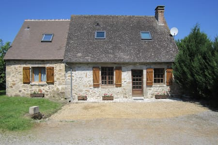Beautiful Cottage with heated pool in the summer. - Lussac-les-Églises - Haus