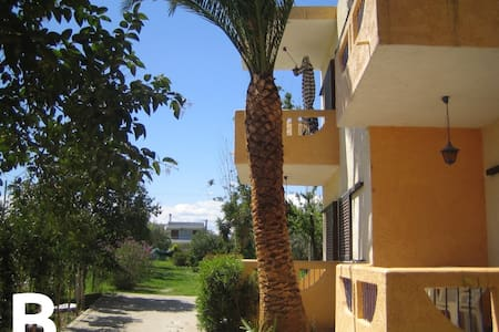 Nerantza, 50m from beach, 1bdr apt - Nerantza - Appartement