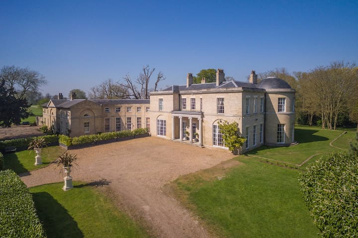 Stay in a Stunning Historic Suffolk Mansion
