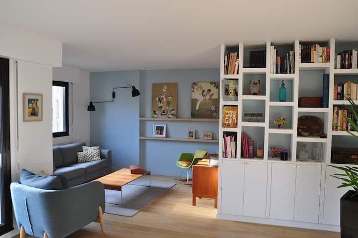Chambre lit simple chez l'habitant