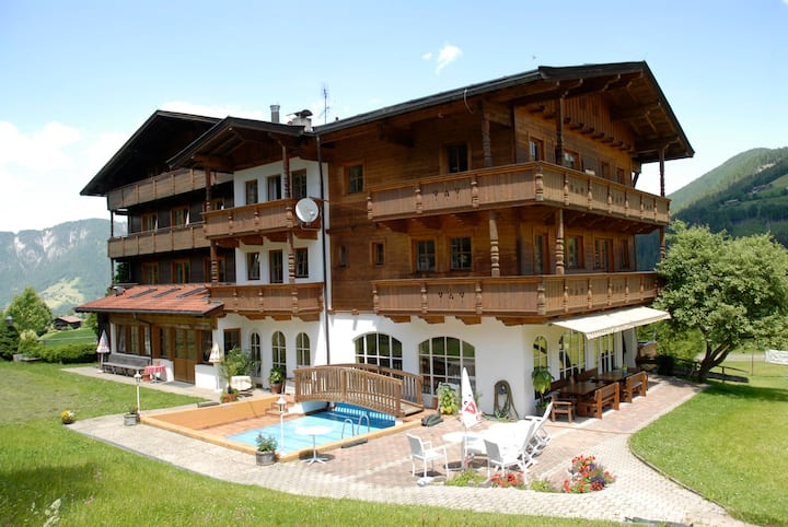 Bed & Breakfast Zimmer in den Alpen
