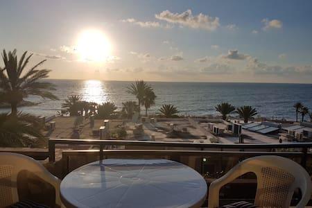 Beach facing chalet for rent