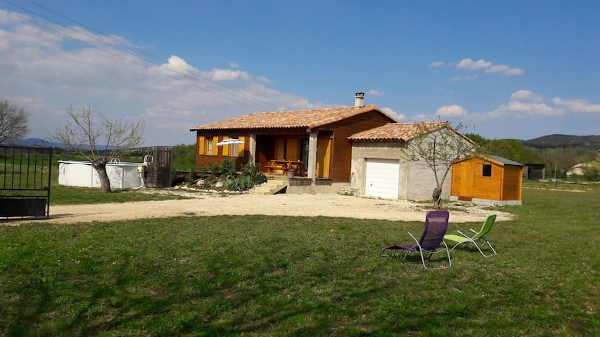 Holiday home, season rental at Brouzet les Alès - Brouzet-lès-Alès - Huis