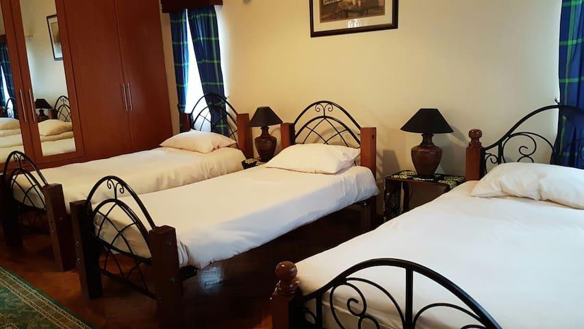 Kathmandu triple bedroom..