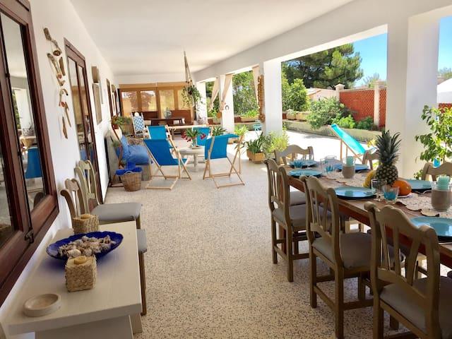 Villa mallorquina a 5 min de la playa