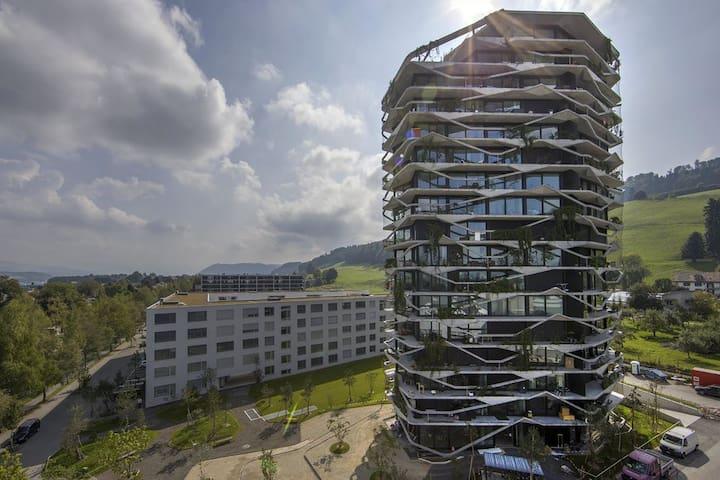 Garden Tower, 10 Stock mit Bergsicht