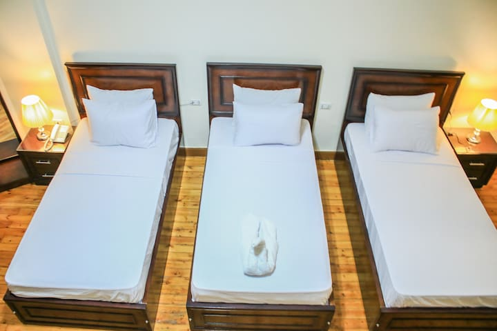 private Deluxe Triple room , downtown, cairo