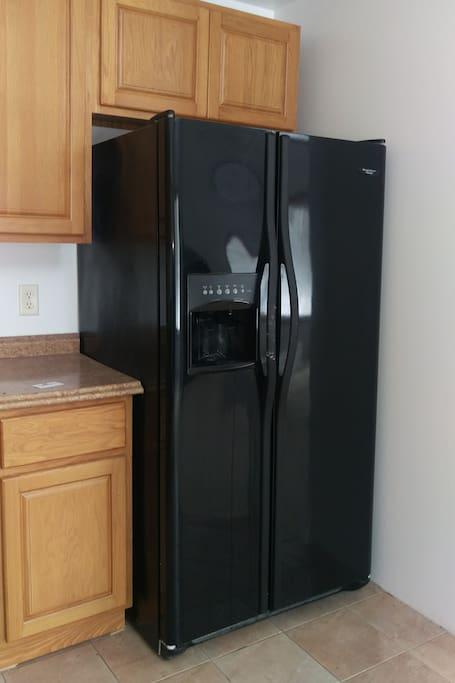 Spacious refrigerator