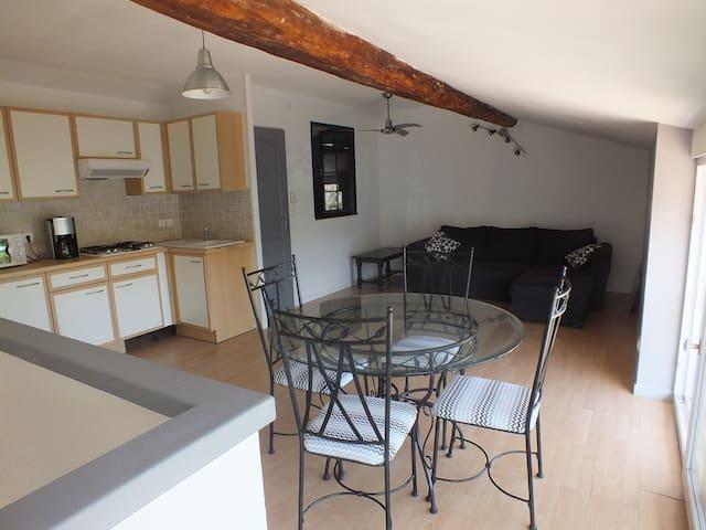 Furnished flat near EURO2016 Lyon - Saint-Priest - Hus