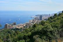 Monaco - just over 2 hours away!