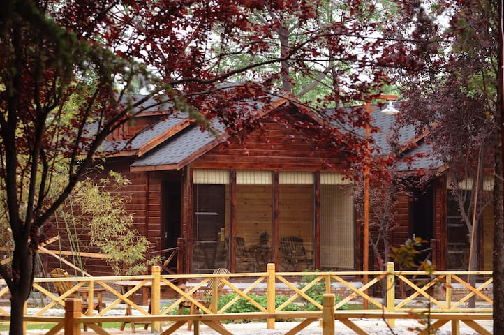40 acres of garden-style hotel, holiday cabin - 洛阳 - Cabin