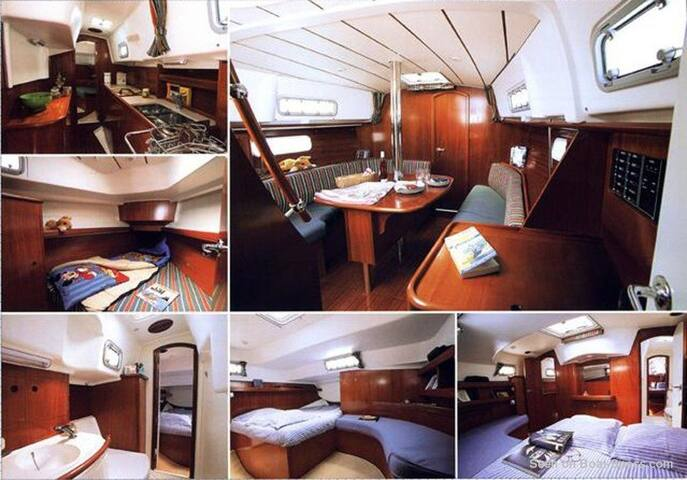 Sailing Yacht - Beneteau Oceanis 36CC