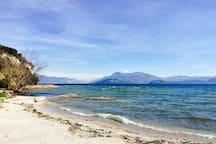 Spiaggia lido delle bionde - Sirmione