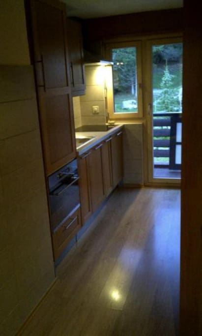 Fully equipped and newly renovated kitchen (including dish washer, oven/microwave, Nespresso coffee maker)
