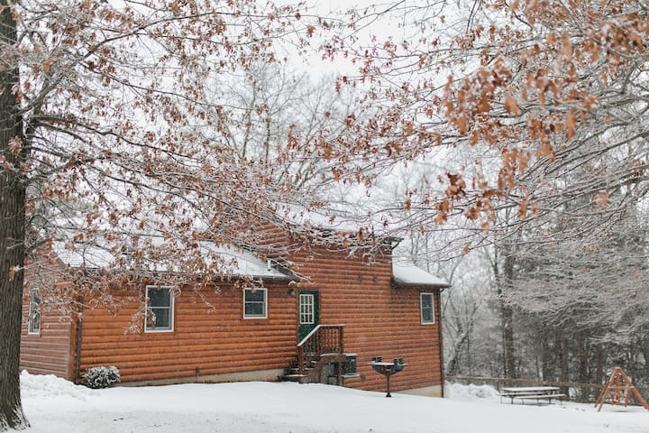 Cozy Winter Cabin- The Cabins at Pine Creek