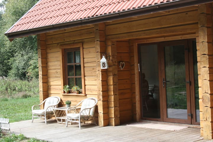 Scenic Log Cabin - Close to Klaipeda, Palanga ...