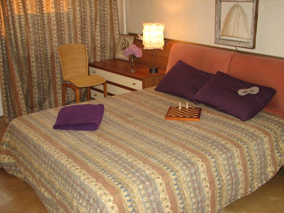 Master bedroom with balcony :)
