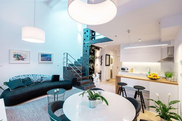 Duplex Loft Apartment ParkLife Zagreb