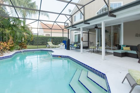Luxury Home by Disney World Florida w/ Heated Pool