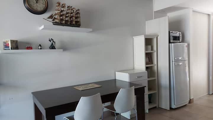 Studio en Pilar+ cochera+pileta+gimnasio+parrillas