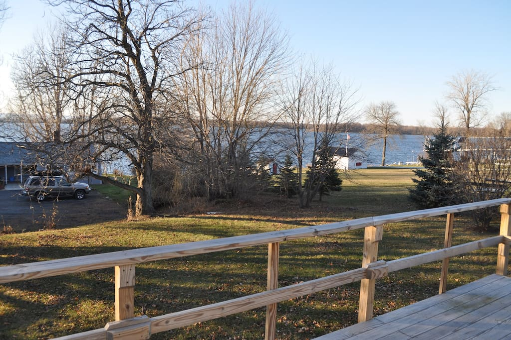 Beautiful Westerly views of Lake Champlain, cottage is approximately 250 feet from the lake