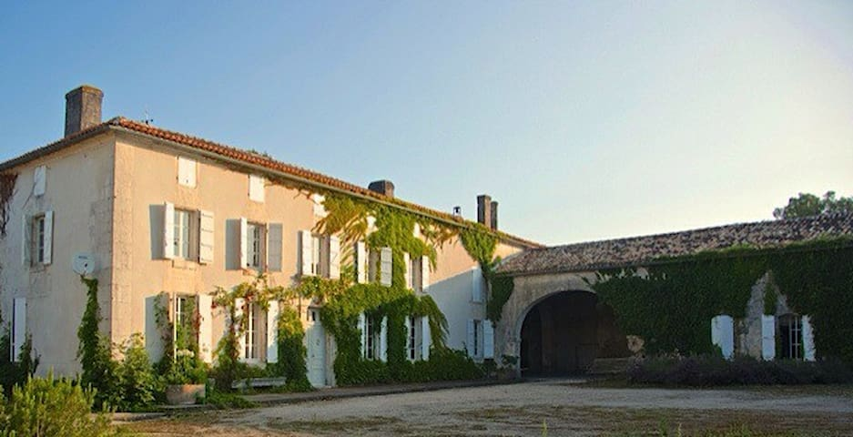 Maison de Maître proche Cognac - Nonaville - Casa