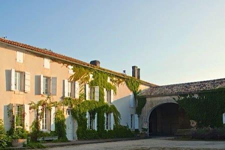 Maison de Maître proche Cognac - Nonaville - Haus