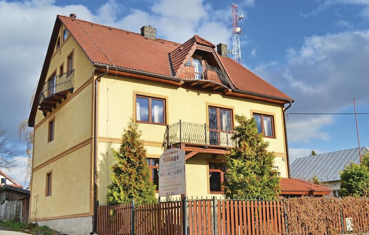 Holiday apartment with 1 bedroom on 55m² in Velky Slavkov