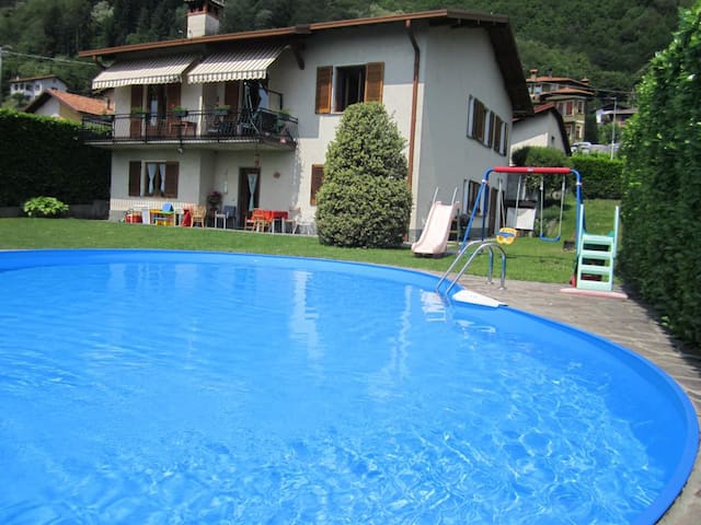 Miki House beautiful on Lake Como