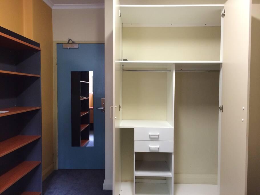 Plenty of cupboard space for longer stays