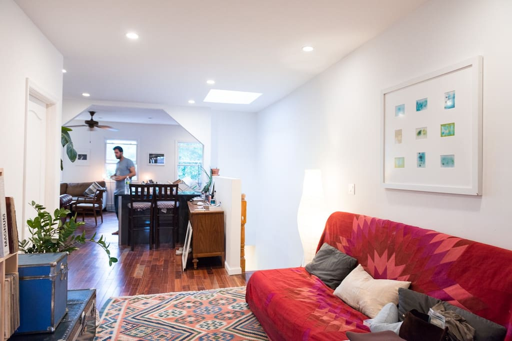 Bedroom With Private Bathroom Rooftop In Duplex Flats For Rent In Brooklyn New York United