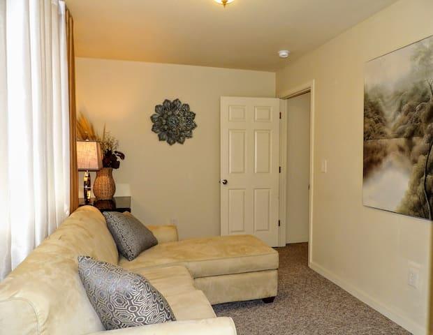 Bedroom 2- Sectional with Queen Sleeper