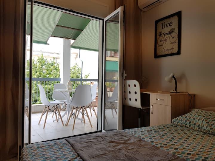 Terrace Apartment City Center - Theagenio Hospital